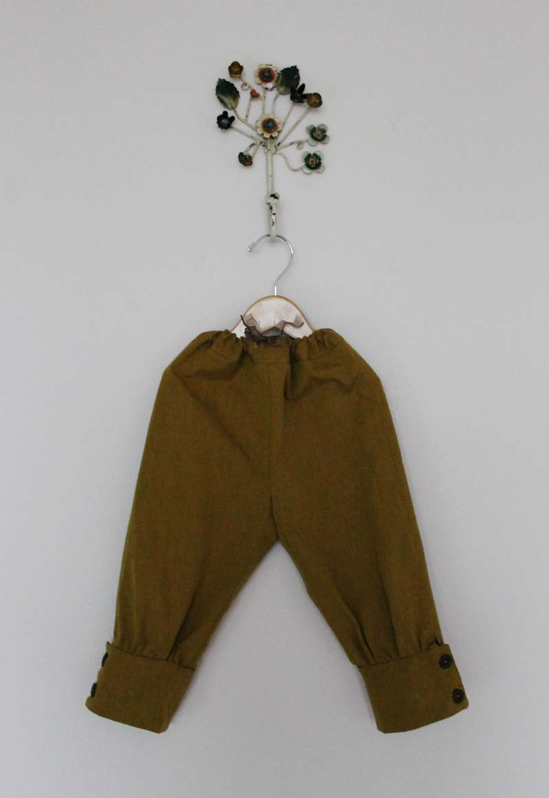 Jodhpur Pants More Mustard And Stripey Shirt Sanae Ishida