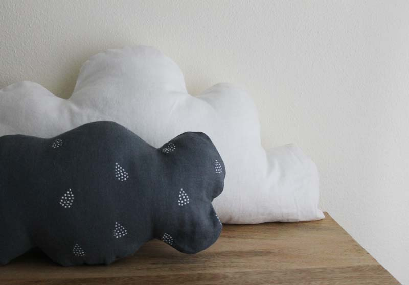 Cloud Shaped Pillow Pillow Could be Shaped a