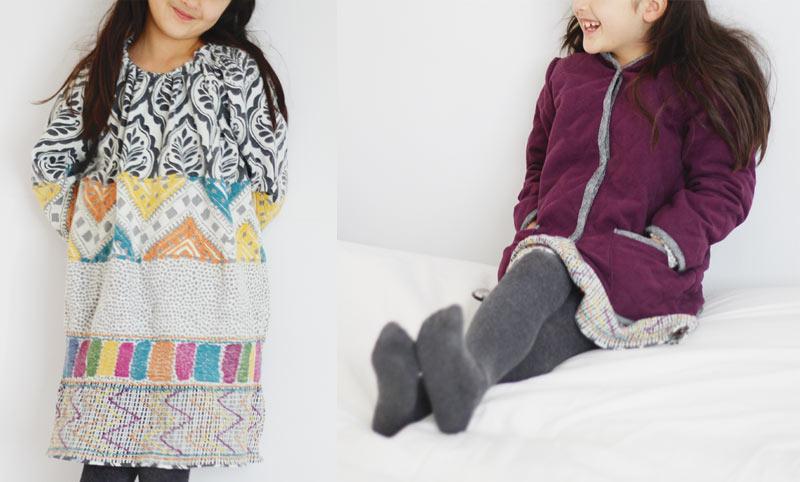 Monday Outfit: Quilted Jacket + Boho Dress – Sanae Ishida