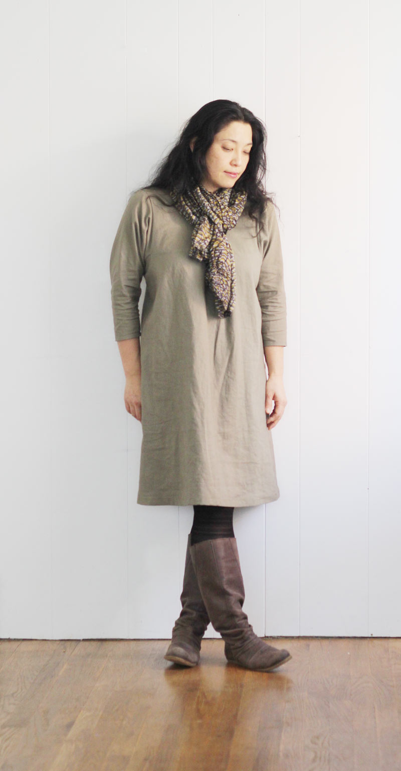 simple-style-dress-khaki1