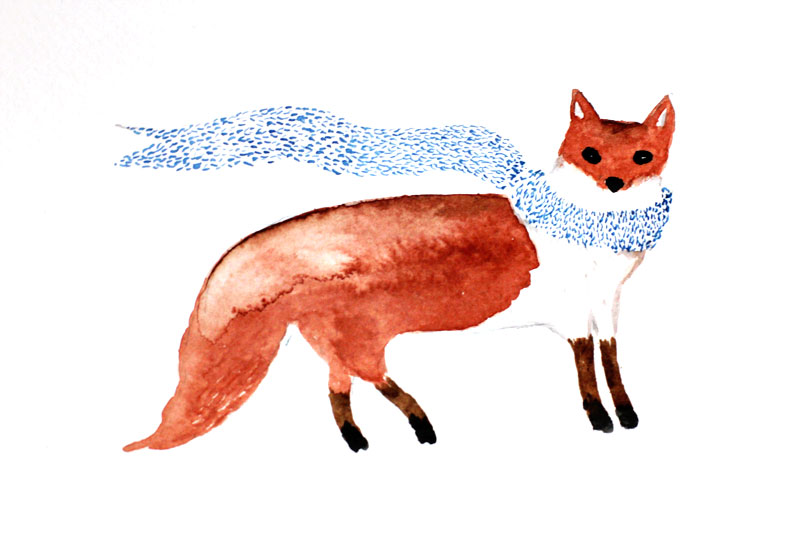 fox-with-scarf