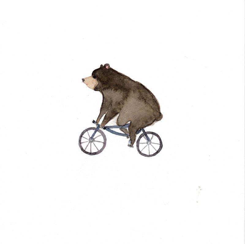 bear-on-bike