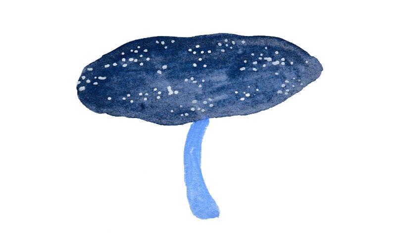 blue-mushroom