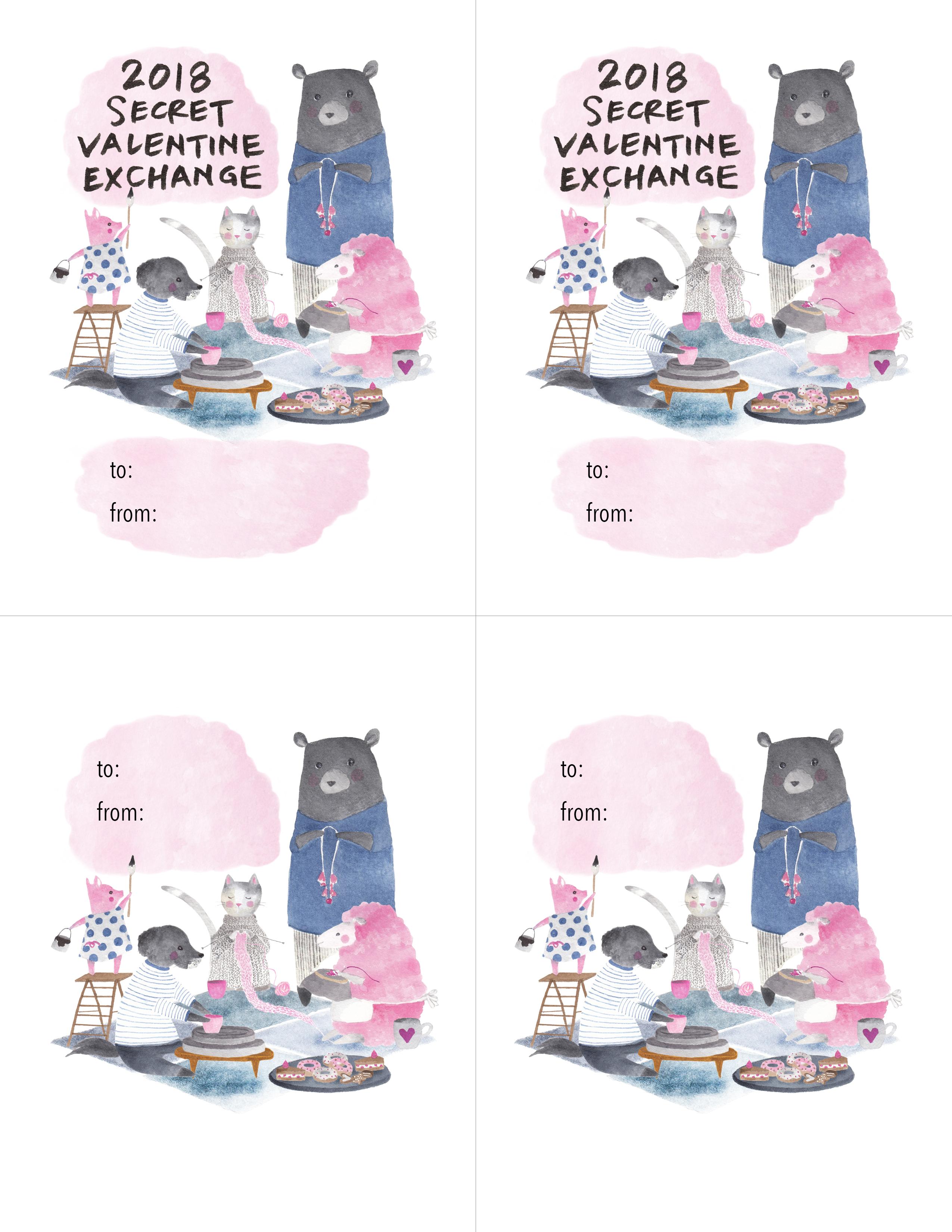Secret Valentine Exchange Sanae Ishida